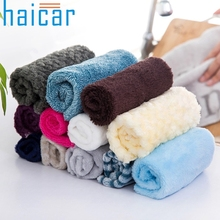 Haicar Top Grand Efficient Anti-grease Color Dish Cloth Bamboo Fiber Washing Towel Magic Kitchen Cleaning Wiping Rags for Gifts(China)