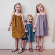 Girls Summer Dress Baby Girl Clothes Vestidos 2018 Brand Kids Sleepwear Girls Costume Children Beach Dress Princess Clothing