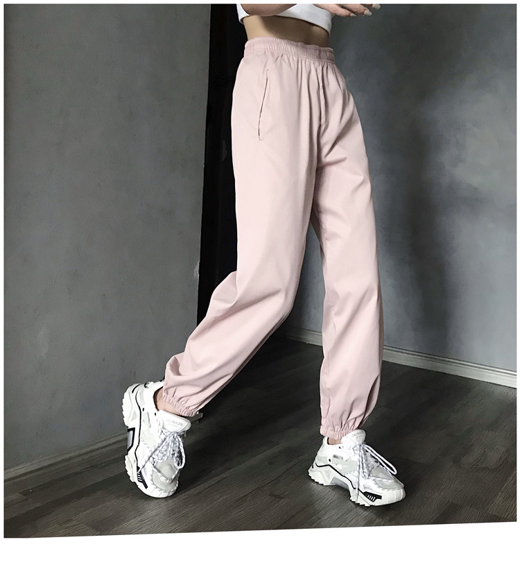 Hot Big Pockets Cargo pants women High Waist Loose Streetwear pants Baggy Tactical Trouser hip hop high quality joggers pants 24