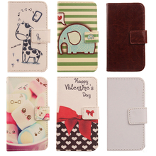 AIYINGE Flip Design PU Leather Case For Acer Liquid E2 Duo V370 Wallet Cover With Card Slot Cell Phone Holster(China)