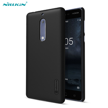 Phone Case For Nokia 5 NILLKIN Super Frosted Shield PC Casing with Screen Protector for Nokia 5 - 5.2 inch(China)
