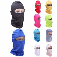 Outdoor Full Face Mask Headwear Protector Lycra Balaclava Cycling Masks For Ski Bicycle Bike Protective Mask for The Face(China)