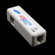 Kebidu RJ11 ADSL Line Splitter Fax Modem Broadband Phone Network Jack Noise Filter Network tool(China)