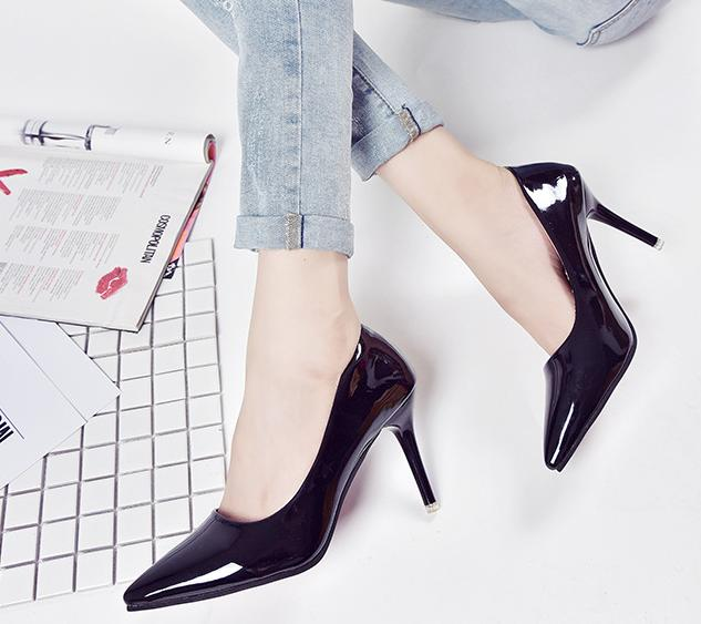 5..Pumps shoes woman 2017 new spring sexy high hee...