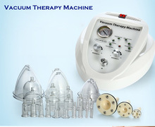 HOT SALE Vacuum Pump Increase Breast Enhancer Electric Breast Enlargement Pump Vacuum Therapy Massager Machine with Suction Cups(China)