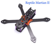 Carbon Fiber Reptile Martian II 180 220 250 with 4mm Thickness Arm Frame Kit 180mm/220mm/250mm + Power Distribution Board