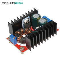 DC-DC Boost Converter DC DC Step Up Converter Module Adjustable Static Power Supply Voltage Regulator Step Up Module 150W 5V
