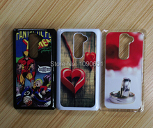 For LG G2 cellphone blank case sublimation with white metal aluminium insert 20pcs/Lot