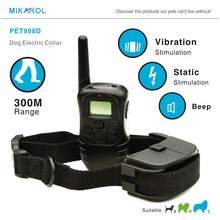 Dog Electronic Shock Remote Collar Pet Trainer Remote Vibration Dog Training Collar for 1 Dog Hot Selling In The World