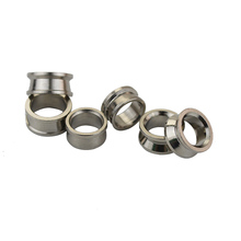 2pcs Double Side Protection Coil Stainless Steel Outlet Line Ring For Fishing Reel(China)