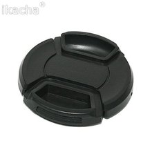 Universal 43 46 49 52 55 58 62 67 72 77 82mm Camera Lens Cap Protection Cover Lens Cover Provide Choose With Anti-lost Rope(China)