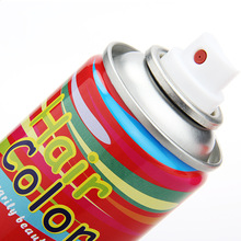Fashion 22 Colors Non-toxic Temporary Spray Dye Personalized Beauty Hair Color for DIY Hair Style