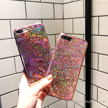Buy mirror phone Cases iphone 7 7Plus Shiny Glitter laser Bling Case iphone X 6 6s 6Plus 6splus 8 8plus silicon back cover Co.,Ltd) for $4.74 in AliExpress store