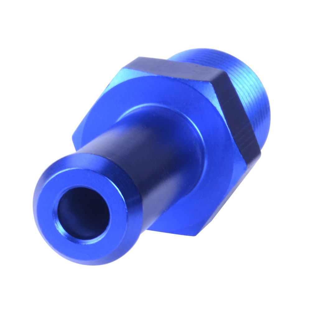 Performance Blue Aluminum 45 Degree Elbow 6 AN AN6 Male Flare To 3//8 NPT Male Fitting Adaptor Connector