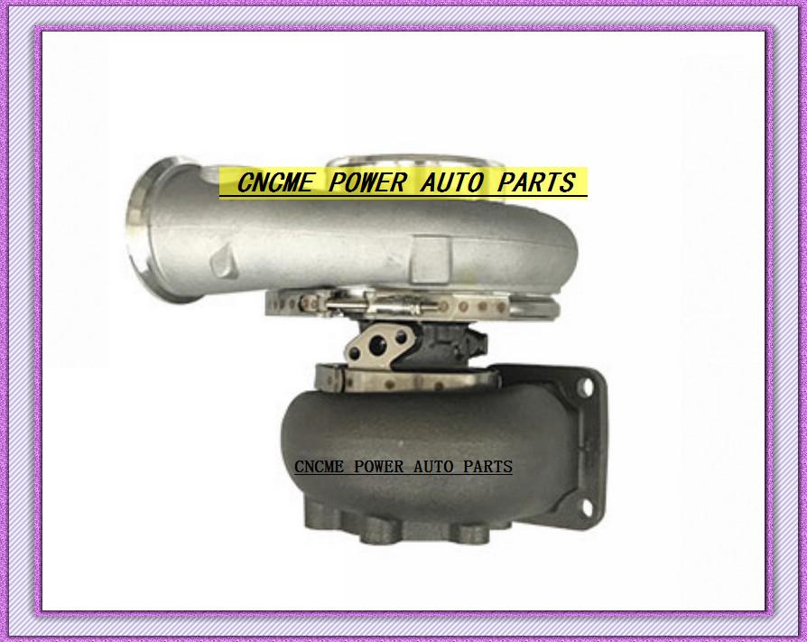 GT42 GT4292 Oil Cooled Turbo compressor AR .60 turbine 1.05 AR 1000HP T4 6 Bolt Turbine Turbocharger (2)