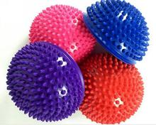Yoga Fitness Ball Massage Half Ball Stability Gymnastic Exercise Yoga Gym Fitness Pilates Ball Weight Ball 250kg Anti Burst