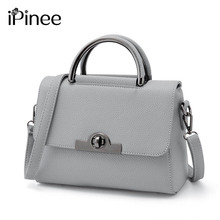 iPinee New Women Candy Colors Bag Brand Fashion Ladies Summer Shoulder Bag Women Leather Handbag Valentines