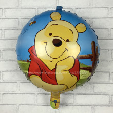 XXPWJ Free shipping 18-inch bears and tigers aluminum balloons birthday party decoration balloon children's toys wholesale I-033(China)