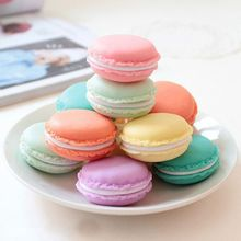 6 Pcs/lot Mini Macaron Storage Box Candy Organizer For Jewelry Earring organizadora zakka Living Essential Hot Sale