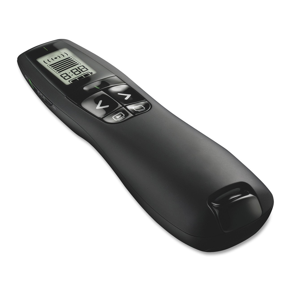 R800 2.4Ghz USB Wireless Presenter PPT Remote Control with Green Laser Pointer for Powerpoint Presentation(China)
