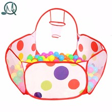 MQ Children Kid Ocean Ball Pit Pool Game Play Tent In Outdoor Kids Hut Pool Play Tent Children's Tent House Indoor Game Baby Toy