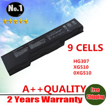 WHOLESALE New 9cells Laptop Battery For DELL XPS M1730 HG307 XG510 0XG510 WG317 312-0680   free shipping