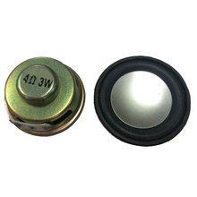 2Pcs 3W 4 Ohm Round Magnet Type LCD Ad Player Speaker Loudspeaker 50mm(China)