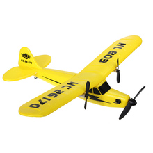HuaLe HL803 2.4G Upgraded PIPER J3 CUB NC26170 RC Remote Control Airplane RTF