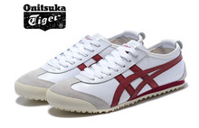 ONITSUKA TIGER gel Mid Runner Classics leather Shoes Men Women Two colors Sneakers Badminton Sports Shoes Size36-44(China)