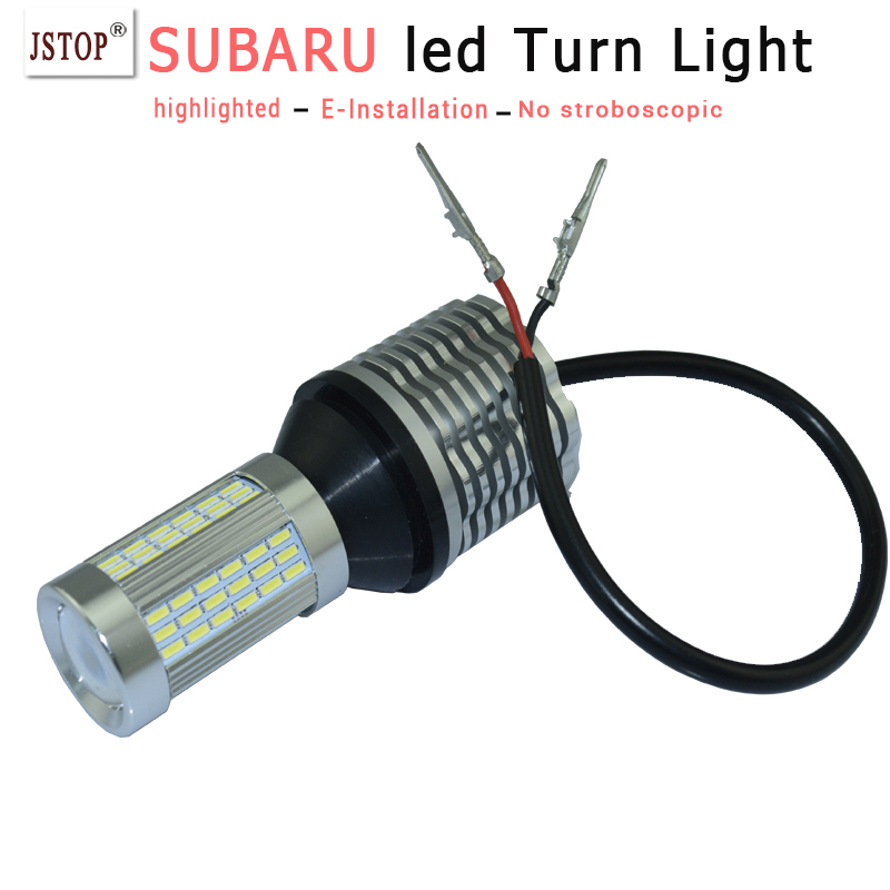 Legacy Forester led Turn light canbus lamp 1156 12VAC PY21W Lamps turn light T20  BA15S auto exterior lamp P21W led Turn bulbs<br><br>Aliexpress