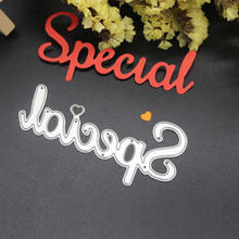 Special Pattern Metal Cutting Dies Scrapbooking Embossing Dies Cut Stencils DIY Decorative Cards(China)