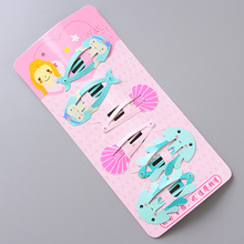 Buy 6PCS/Set Girls Cartoon Cute Fruits Animals Hairpins Princess Hair Clips Children Lovely Headband Barrettes Kids Hair Accessories for $1.24 in AliExpress store
