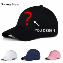 LongKeeper Customerized Trucker Caps Customer Logo Design Baseball Hats LOGO Printing Adult Or Children Hats Wholesale 10pcs/lot