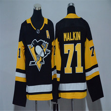 Mens EVGENI MALKIN Embroidered Throwback Hockey Jersey Size M-3XL(China)