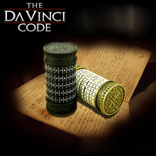 Metal Cryptex locks Leonardo da Vinci Educational toys gift ideas Christmas gift to marry lover escape chamber props