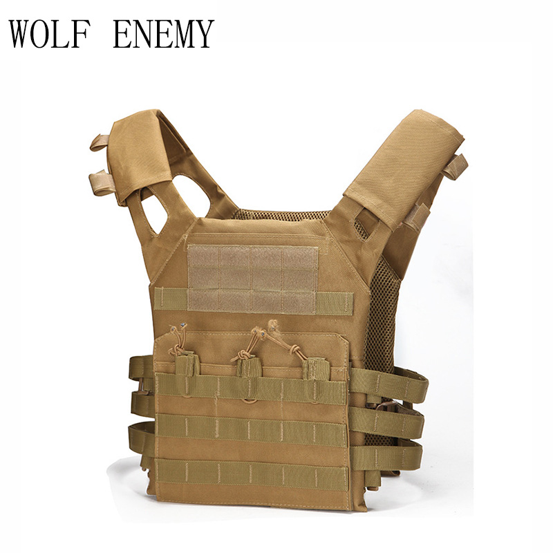 Hunting Tactical Accessoris Body Armor JPC Plate Carrier Vest Ammo Magazine Chest Rig Airsoft Paintball Gear Loading Bear Vests<br>