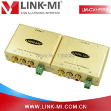LINK-MI LM-CVHFIRB Composite Video,Stereo Hi-Fi Audio /IR Pass-Thru Balun Extender