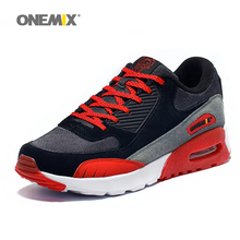 Original Onemix Trainer Shoes Air 90 Men's Sneakers Damping Trail 87 Trainers For Lady Outdoor Sport Shoes Brand Jogging Walking(China)