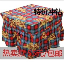 24 season 24 cotton-padded heaters cover quilt furnace set hot plate table cloth