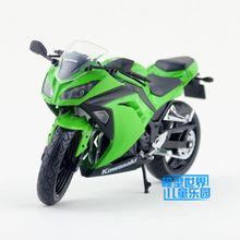 Free Shipping/1:12/Diecast Motorcycle Toy Model/Kawasaki Ninja 250/300 2014/Delicate Educational Collection/Toy for Children
