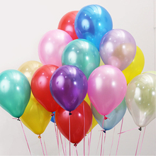 Buy 100PCs 10inch 1.5g Color Latex Balloon Air Balls Inflatable Wedding Party Decoration Birthday Kid Party Float Balloon Kid Toys for $5.69 in AliExpress store