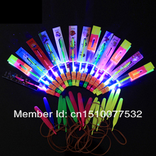 Christmas Gift LED amazing arrow Flying helicopter umbrella kids toys Space UFO,LED Lighte Up Toys