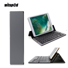 Witsp@d Mini USB 3.0 Wireless Bluetooth Keyboard Portable Foldable Keyboard for smartphone with Stand Holder For iPad Tablet(China)