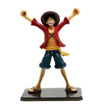 "6"" One Piece Luffy After 2 Years THE NEW WORLD PVC Action Figure Collection Model Toy without Original box Free Shipping(China)"