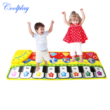 Coolplay CP2300 70x27CM Baby Piano Mats Music Carpets Newborn Kid Children Touch Play Game Musical Carpet Mat Educational Toys