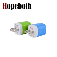 Hopeboth 10 Colors 1A 1000MA US AC home wall charger for  iphone 4 4s 5 5s 6 6plus for samsung mp3 for ipod itouch