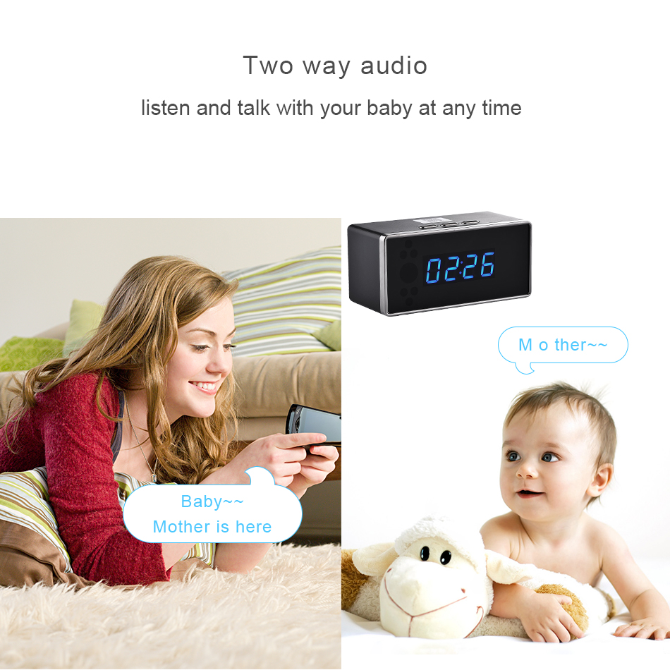 Two way audio intercom IP camera Looline