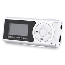 New Mini Portable Storage 1.1 Inch LCD Screen MP3 Player With LCD Screen Support 32GB Micro SD TF Card Digital Mp3 players