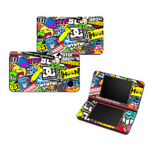 High Quality Bombs Vinyl Skin Sticker Protector for Nintendo DSI XL for NDSI XL skins Stickers