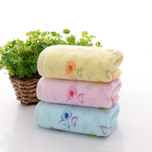 Nice Flowers Hearts Printing Face hand towel High quality 2pcs/set 34cm*75cm 100% cotton wash cloth towel New hotsale wholesale